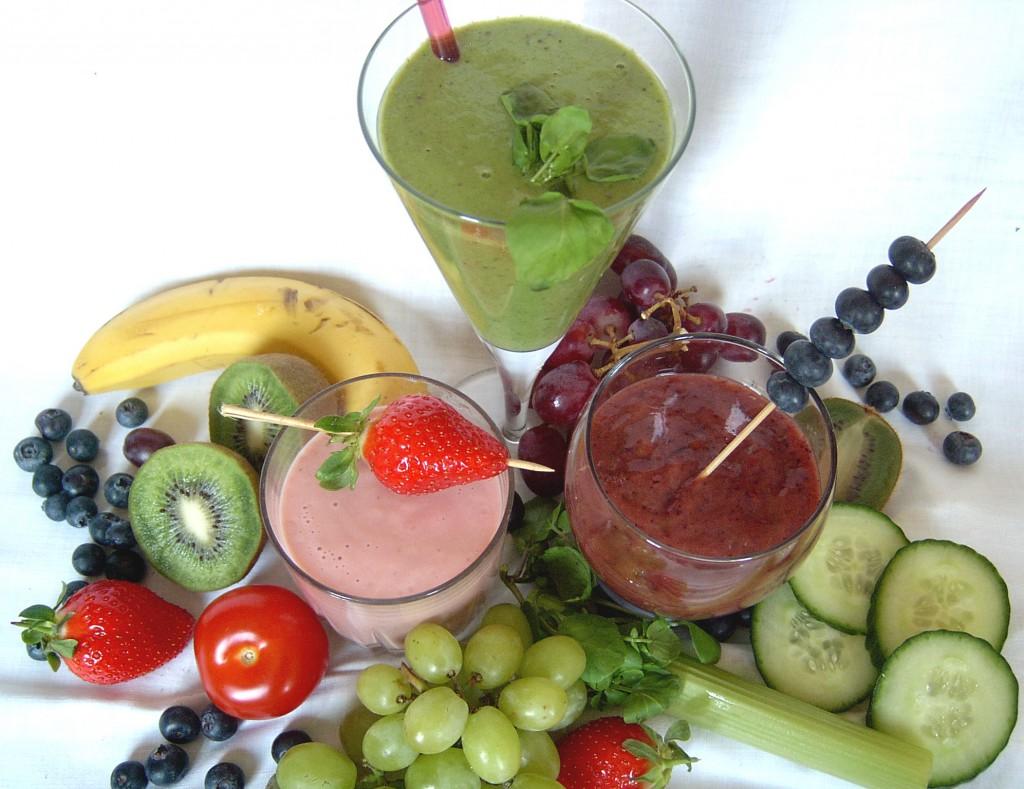 Les Smoothies : comment manger vos 5 fruits et légumes quotidiens.